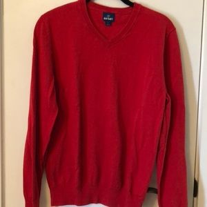 Old Navy red size Sm long sleeved sweater